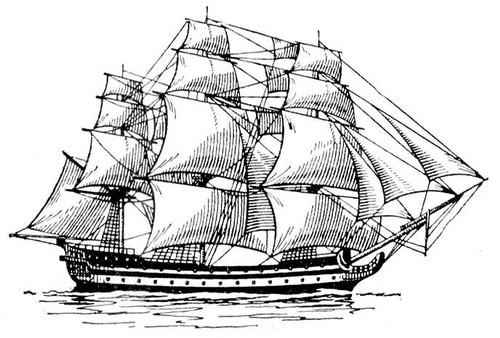 поворотный корабельный кран