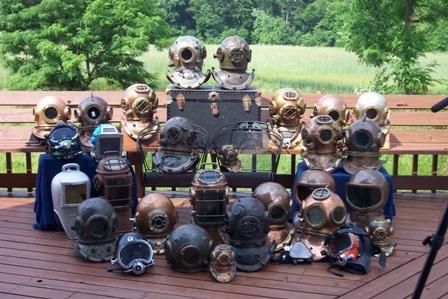 водолазные шлемы