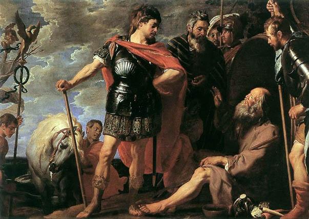 Александр Македонский и Диоген