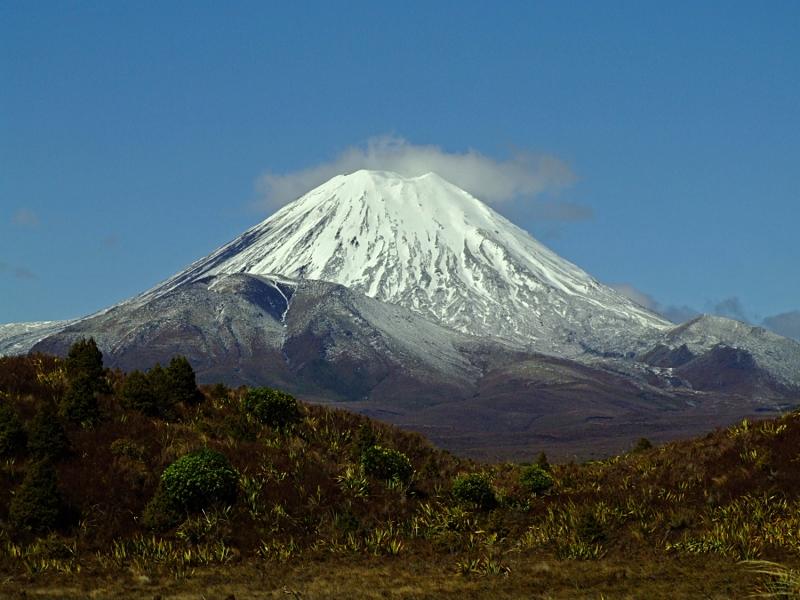 вулкан Mt. Ngauruhoe