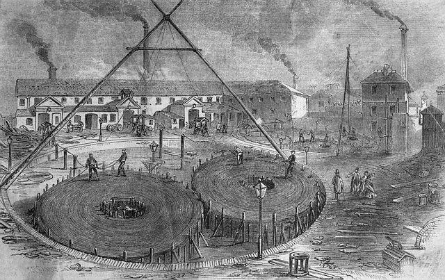 телеграфный кабель