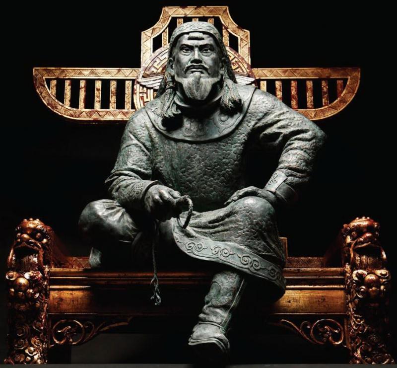 Чингисхан статуя
