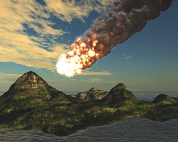 астероид упал в Ладожское озеро