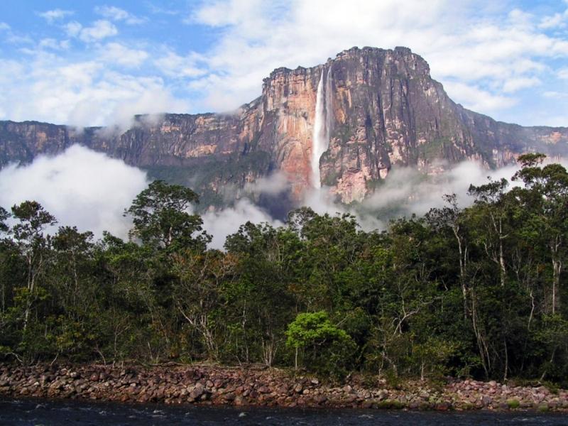 самый высокий в мире водопад