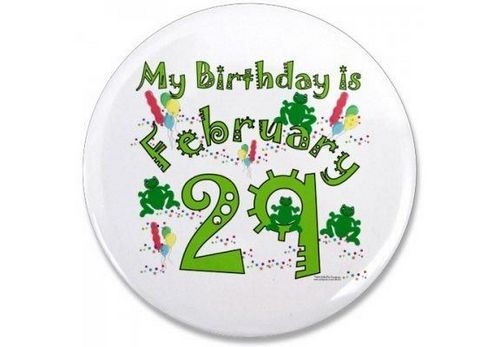 Родившейся 29 февраля поздравления