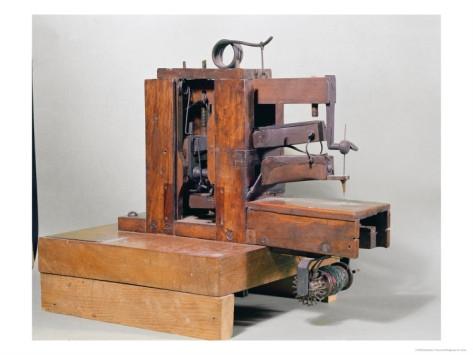 Первые швейные машинки