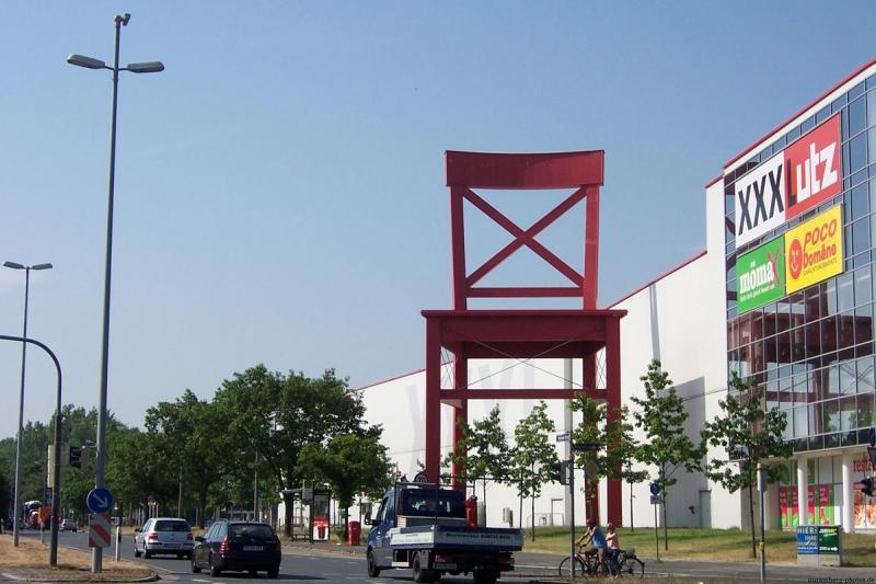 самый большой стул в мире