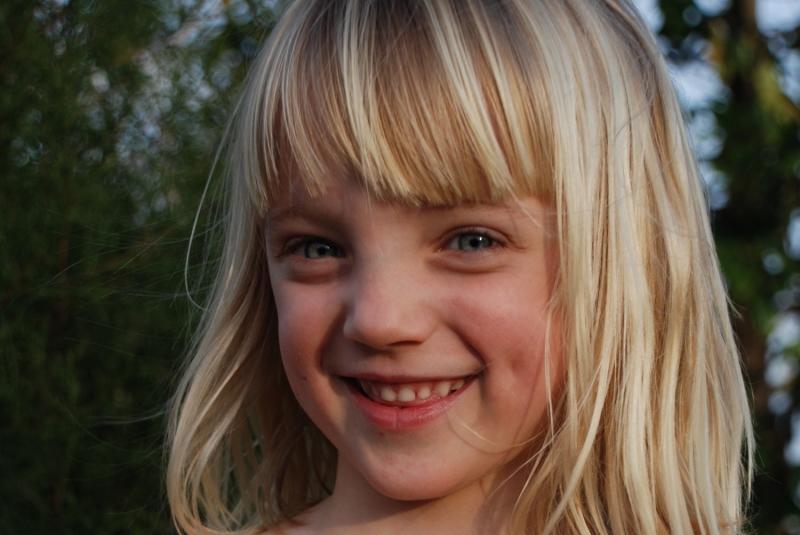 улыбка девочки