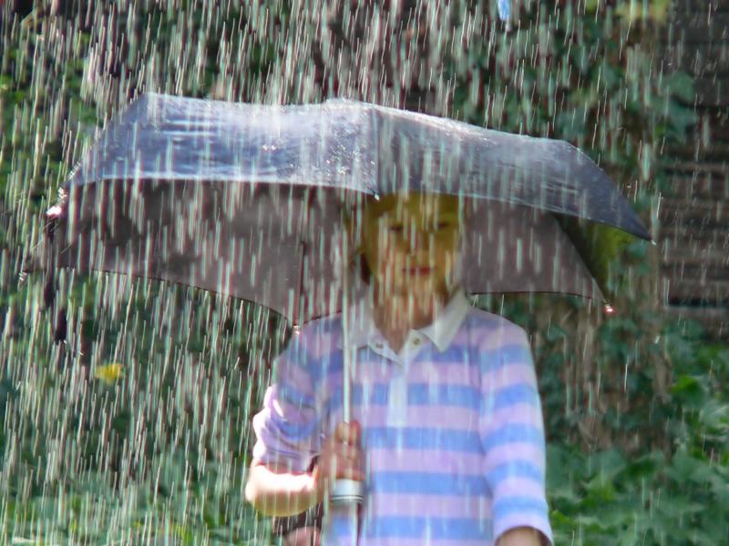 как не промокнуть под дождем