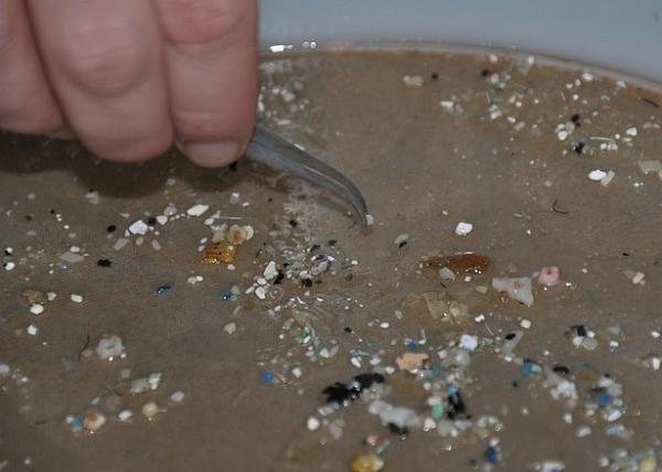 пластик в океане
