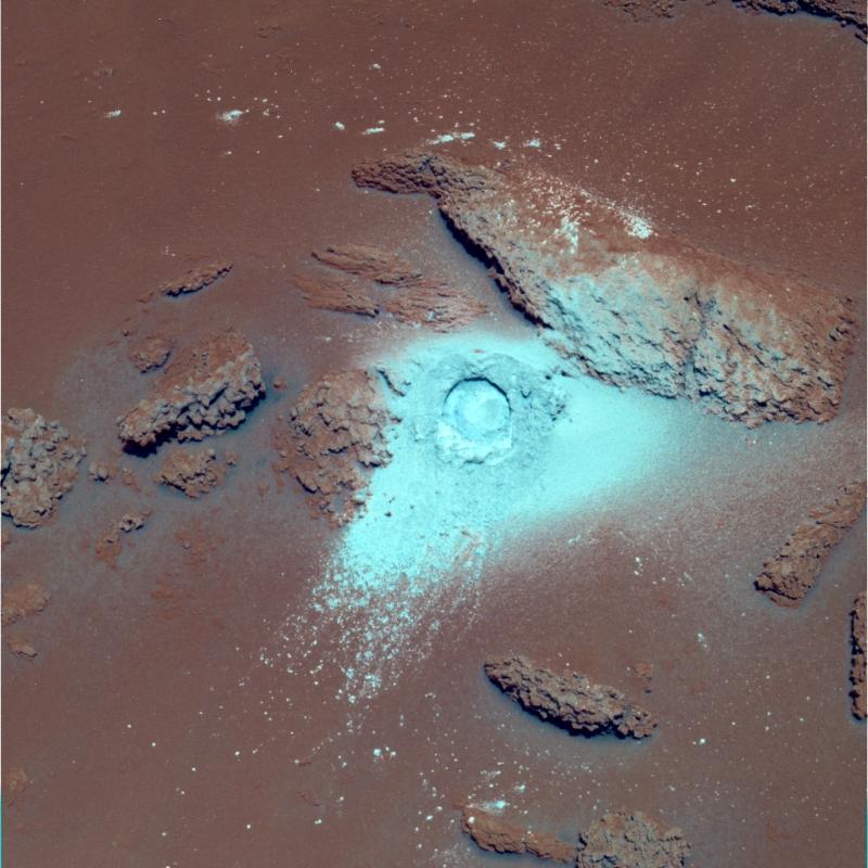 снимки поверхности Марса  Spirit
