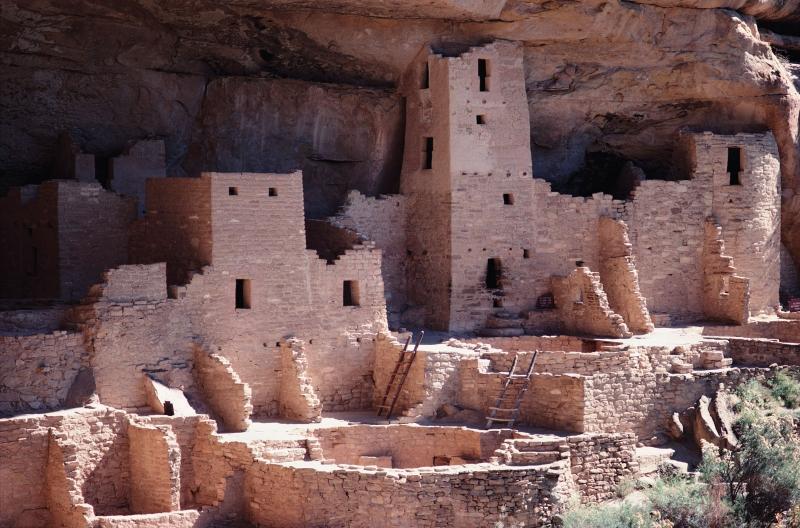 древнее поселение в Америке