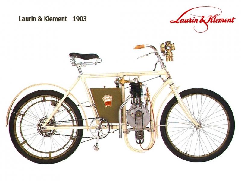 мотоцикл клемента и лаурина