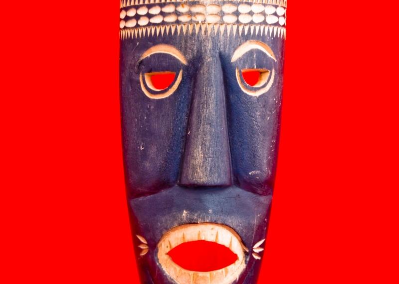 ритуальная маска шамана
