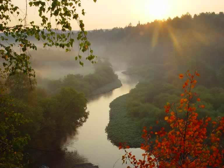 река в Денежкином камене