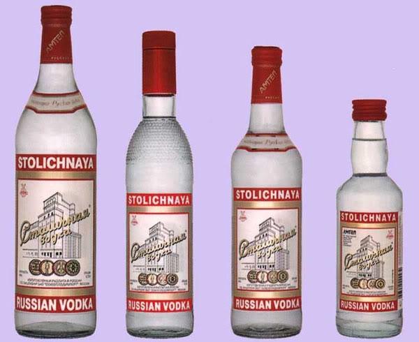 русская водка