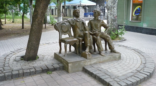 памятник детям лейтенанта Шмидта