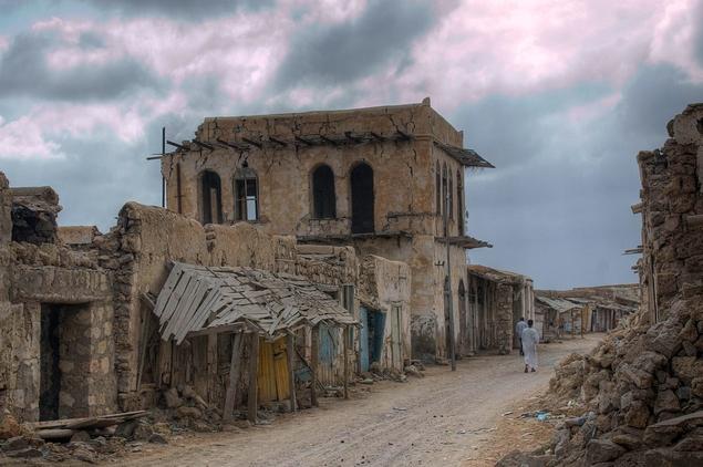 Развалины Суакина