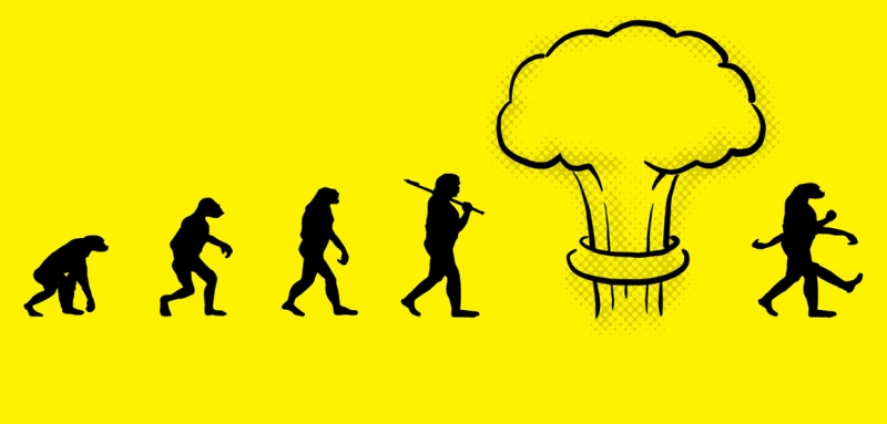 эволюция в наше время