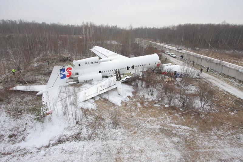 крушение ТУ-154 Москва Авиалинии Дагестана