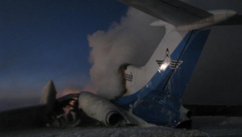 авиакатастрофа ТУ-154 Сургут