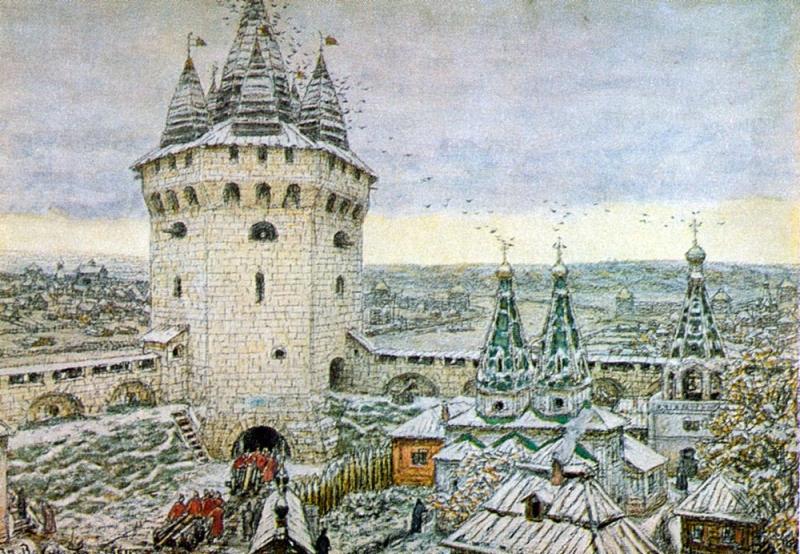 Москва, Иван 3