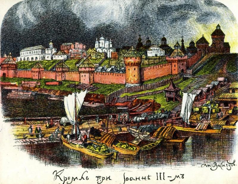 Древняя Москва, Кремль